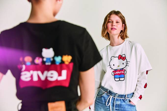 Levis x Hello Kitty 1