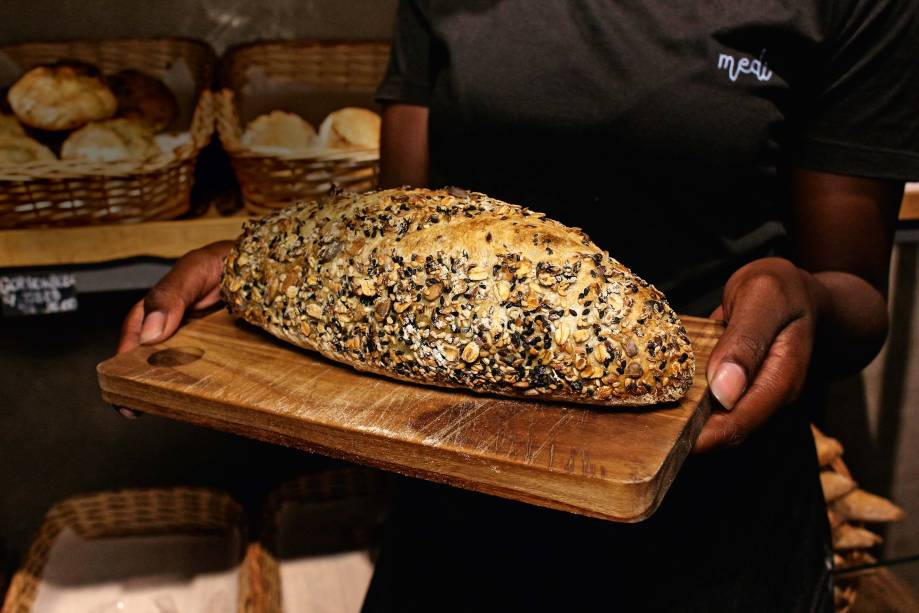 Pão multigrãos: uma das receitas da casa