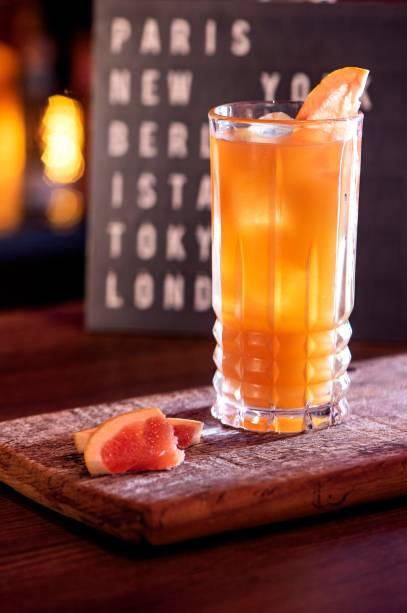Drinque gim pomelo: inspiração nas Filipinas