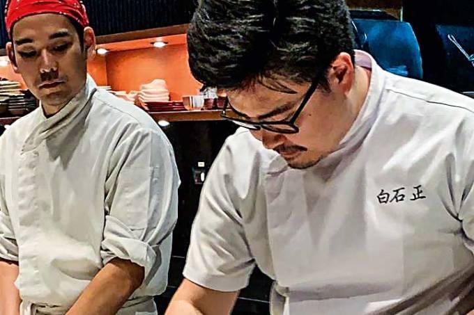 chef Tadashi Shiraishi