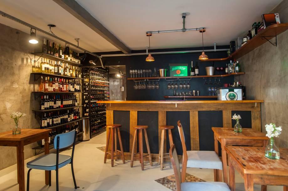 O ambiente da casa: bom lugar para beber