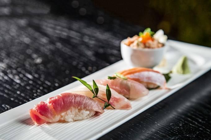 Nobu – seleção de sushis