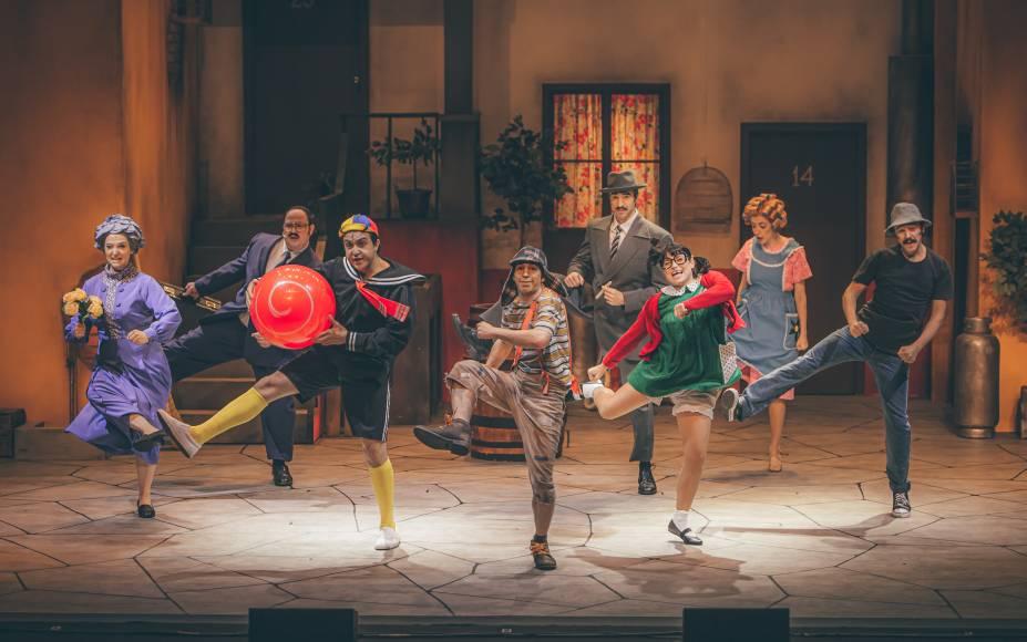 Chaves - Um Tributo Musical: espetáculo está em cartaz no Teatro Opus