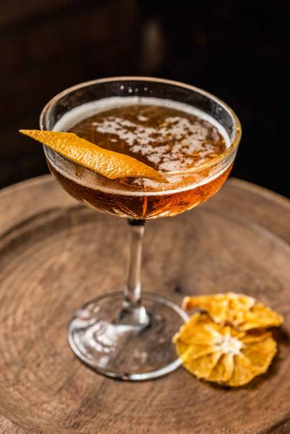 <span>Perfect manhattan: bourbon e vermutes tinto e seco</span>