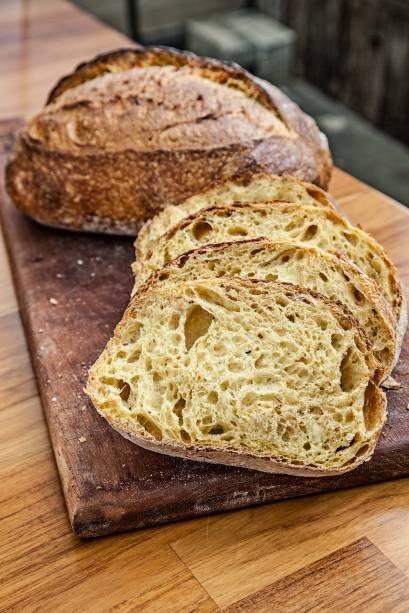 Pão de abóbora com avelã: sabor suave