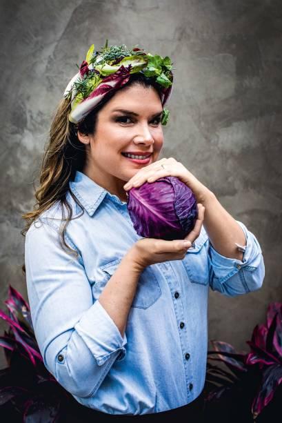 Alana Rox, sócia do espaço: vegana desde os 15 anos