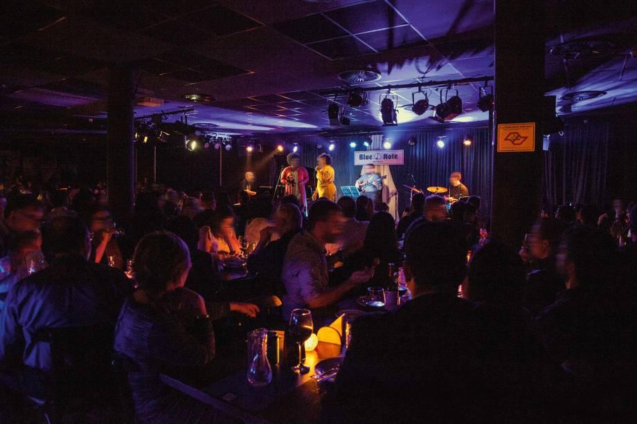 Blue Note: bar de jazz na Avenida Paulista