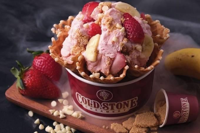 Cold Stone sorvete lançamento