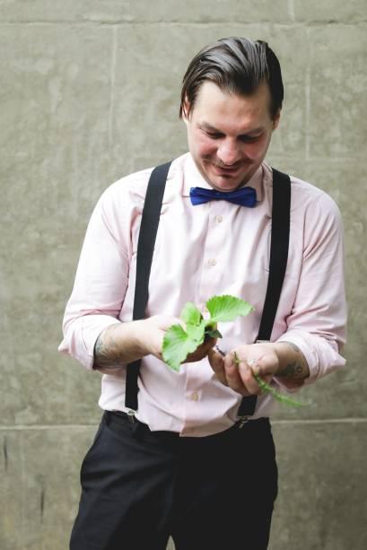 Spencer Amereno Jr.: parte das plantasque ele utiliza nos coquetéis vem de hortas do próprio hotel
