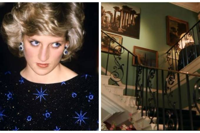 Diana_empurra_Raine_escada