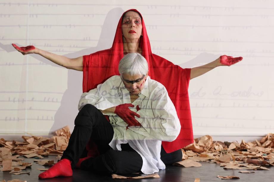 Cia. Mariana Muniz de Teatro e Dança - A Um Passo da Aurora: Mariana e Regina Vaz