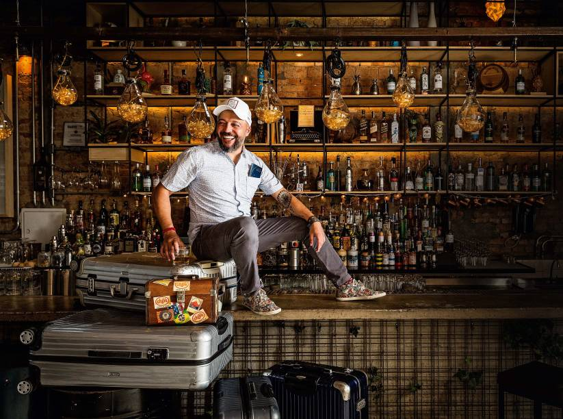 Márcio Silva: representante da coquetelaria no exterior e bartender do ano por COMER & BEBER