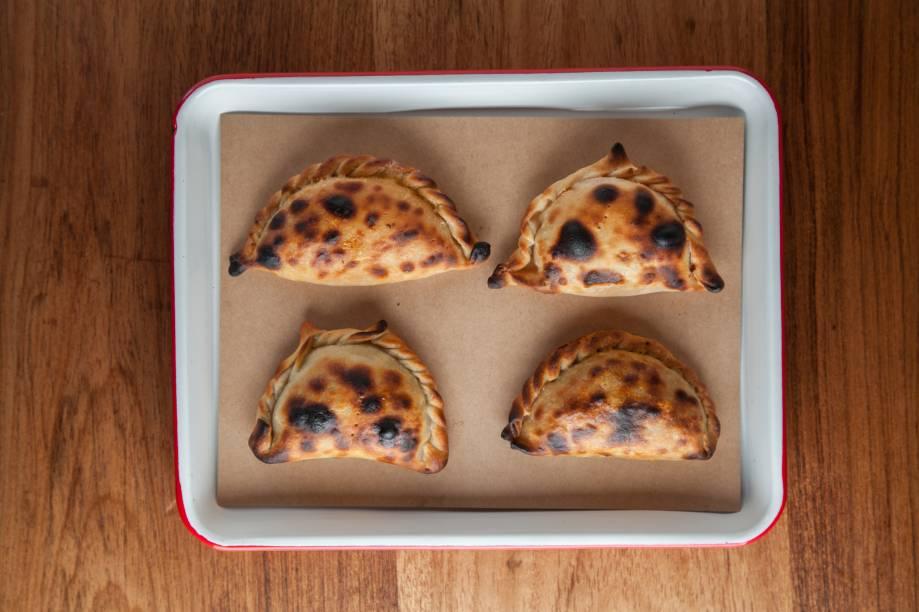 Empanadas benfeitas: propositadamente chamuscadas