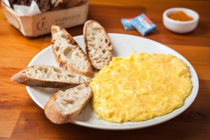 Fabrique Pão e Café – ovos mexidos