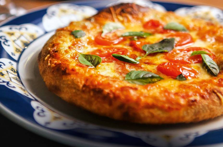 <span>Pizza margherita: assada na hora</span>