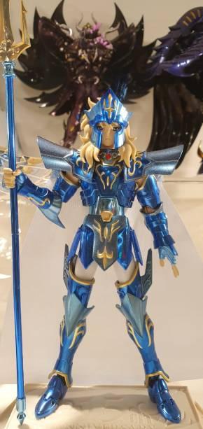 Poseidon, personagem do desenho Cavaleiros do Zodíaco, da Bandai: 499,99 reais
