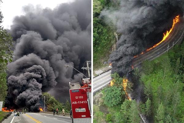 acidente tamoios site