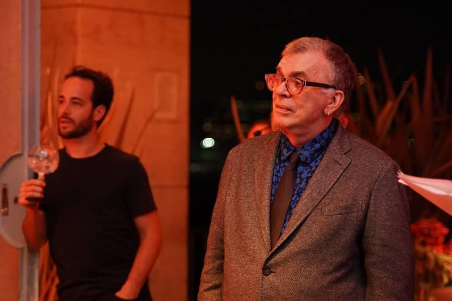 Walcyr Carrasco: diretor prestigia o prêmio e apresenta categoria