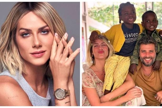 Giovanna Ewbank e filhos