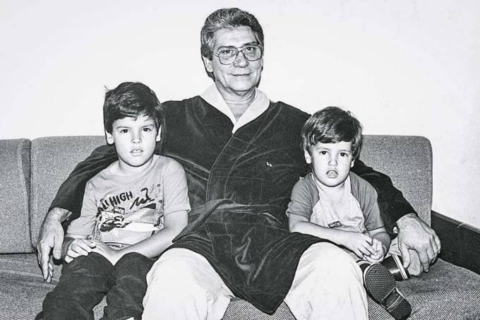 Bruno Covas criança