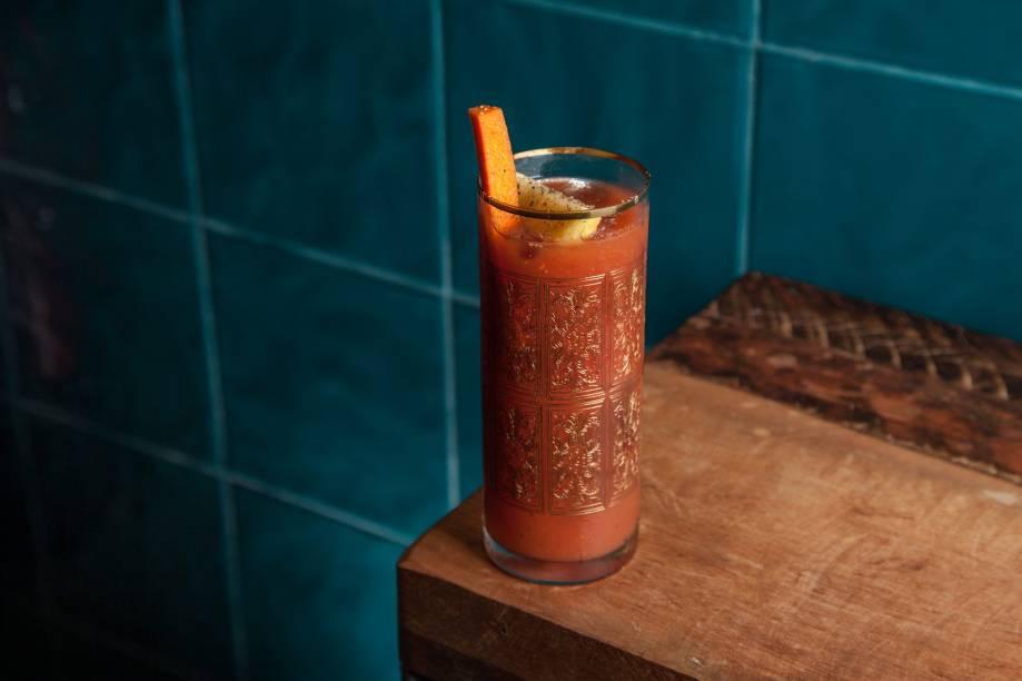 Red snapper: versão com gim do bloody mary