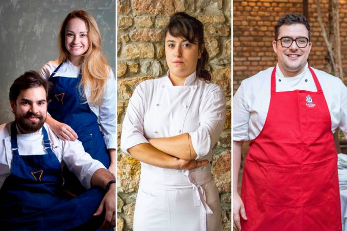 Jantares Fernanda Ribeiro, Antonio Malioca, Giovanna Perrone e Rodrigo Aguiar