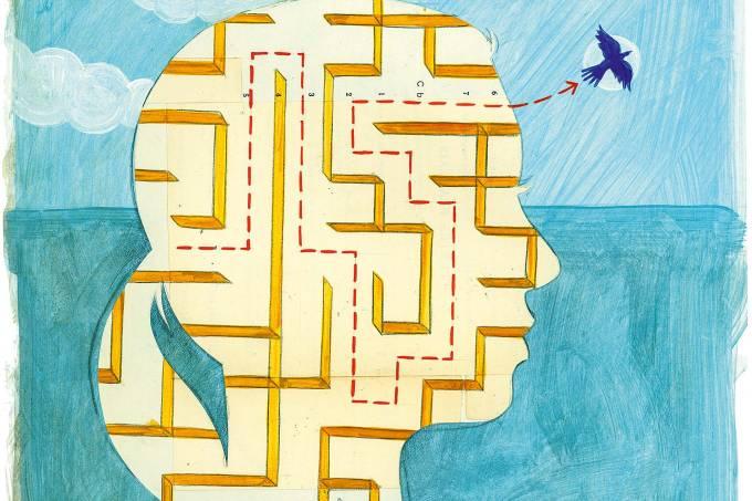 mente cérebro pensamento