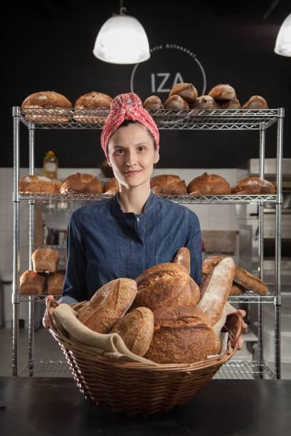 Pães variados e menu sazonal: opções da IZA