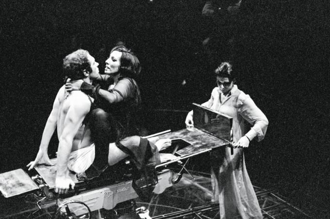 Paulo César Pereio, Ruth Escobar e Célia Helena