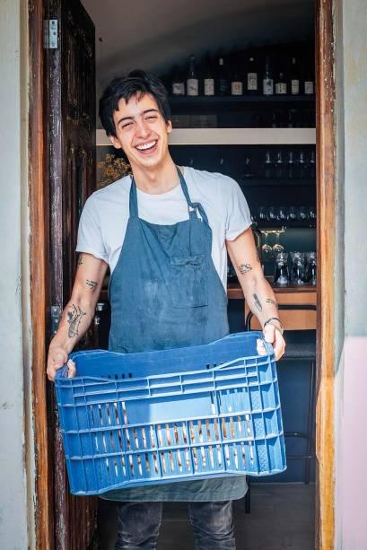 <span>O chef Adriano de Laurentiis: por trás das receitas</span>