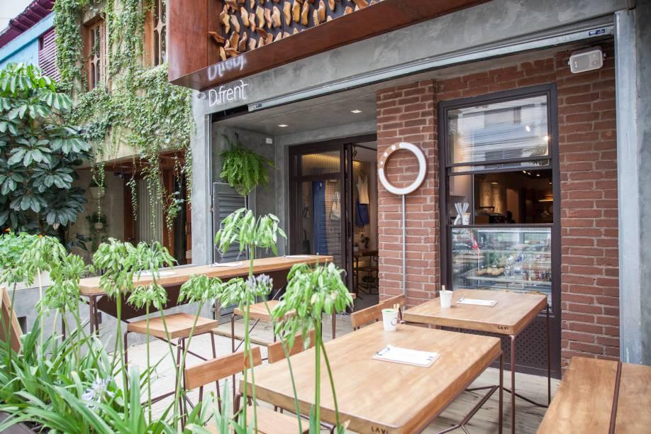 A cafeteria: na frente de loja colaborativa