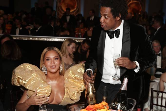 Beyoncé-JAY-Z-at-2020-Golden-Globes
