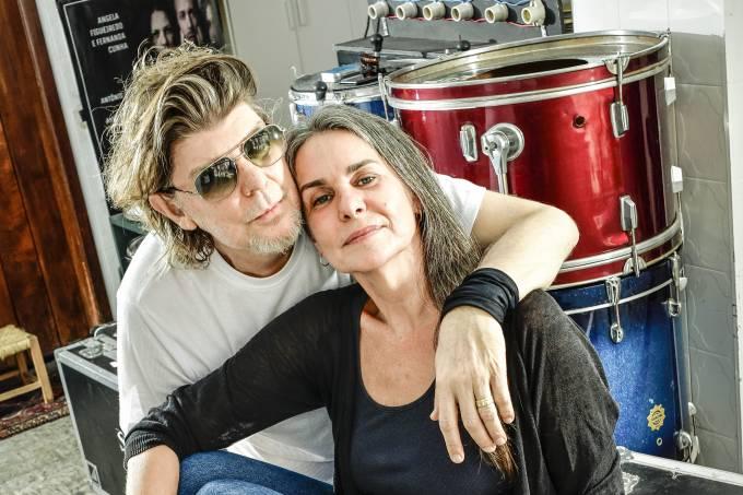 Branco Mello e Angela Figueiredo