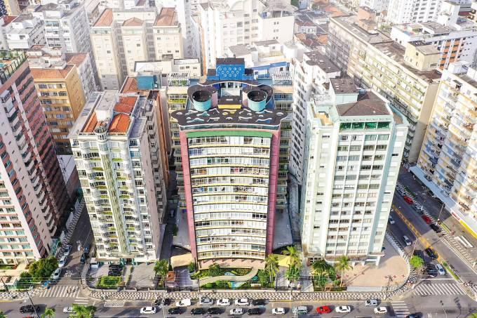 Edifício Verde Mar Santos
