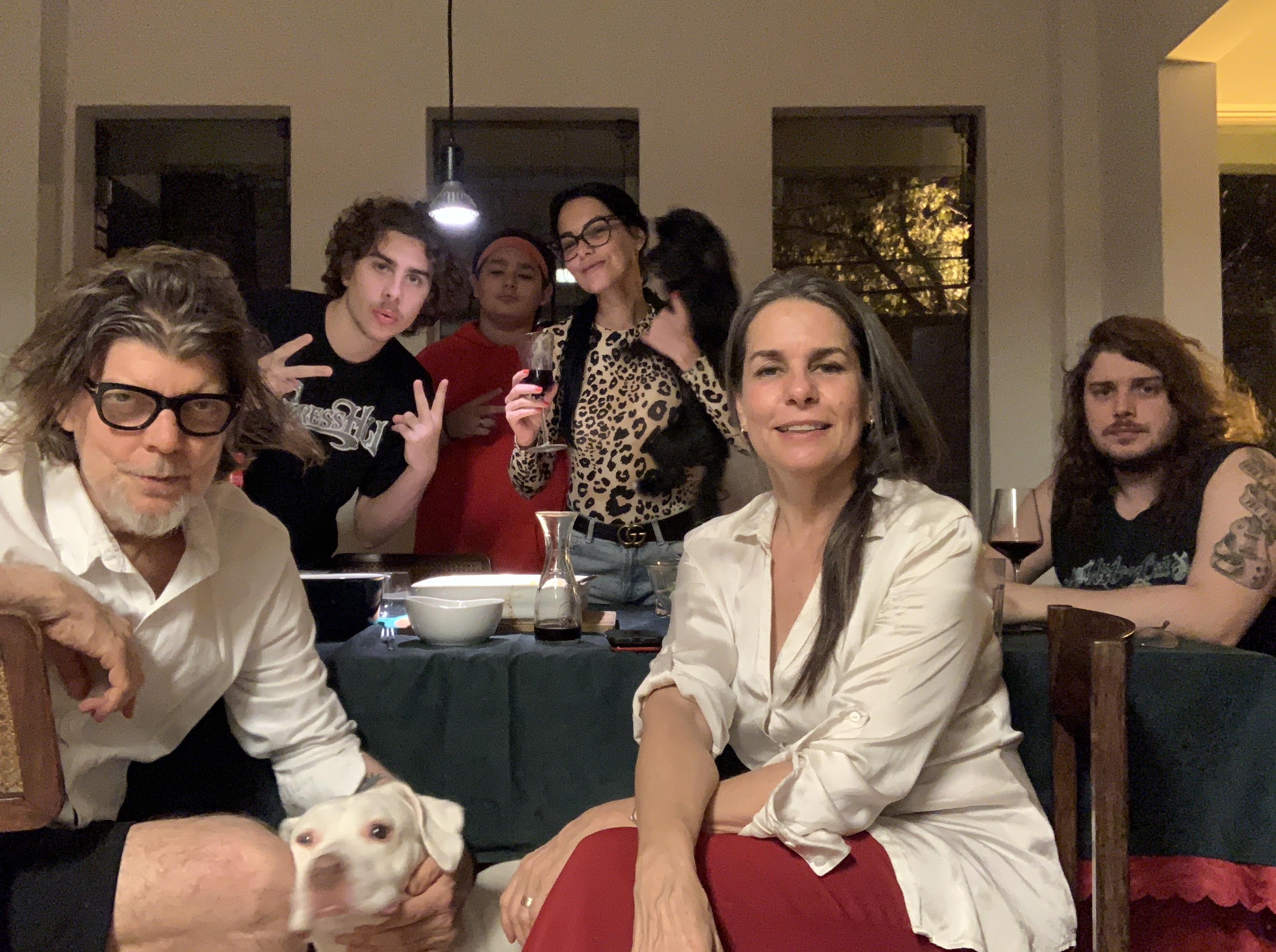 Branco Mello e Angela Figueiredo: