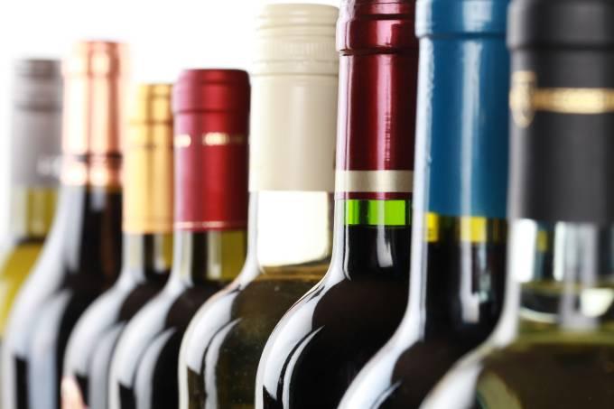 Vinhos Garrafas