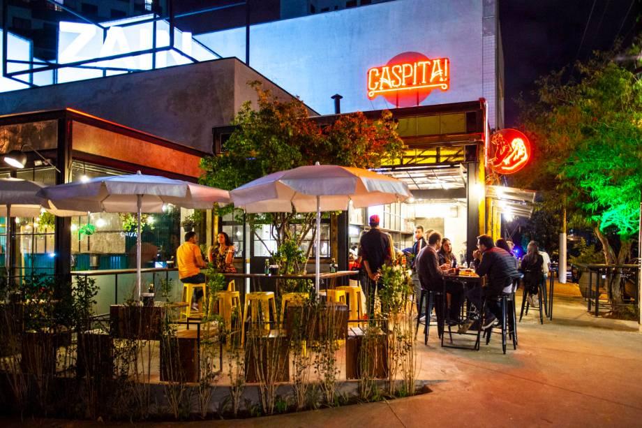 Pizzaria no Tatuapé: muito espaço ao ar livre