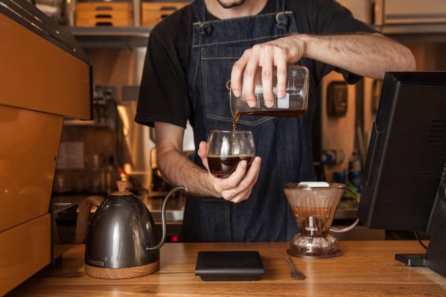 Café coado: um dos métodos filtrados