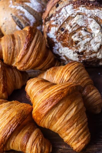 Croissants; entre as ofertas para levar