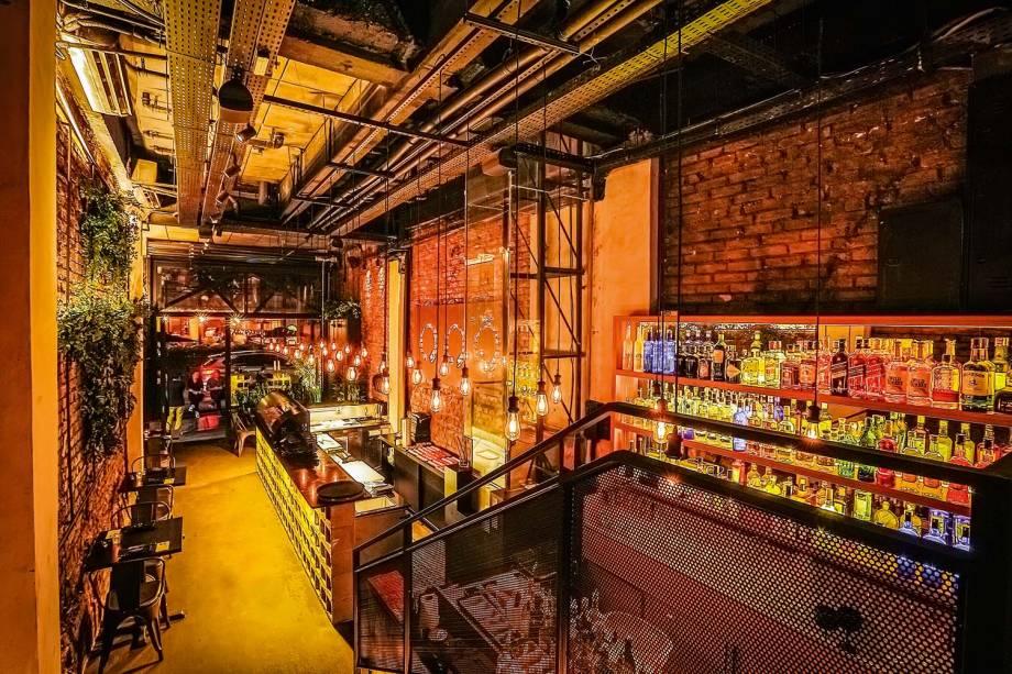 <span>O salão: mesmo espírito de bar da matriz, no Itaim Bibi</span>