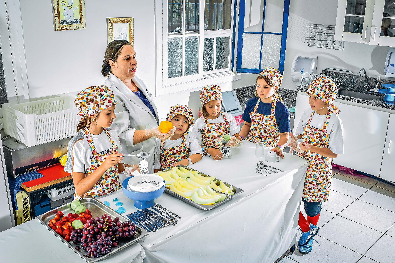 aula culinaria Escola Pueri Domus