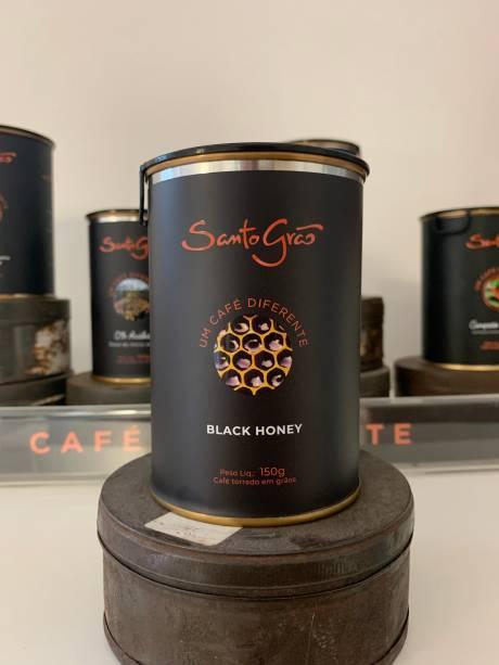 Microlote black honey: café adocicado
