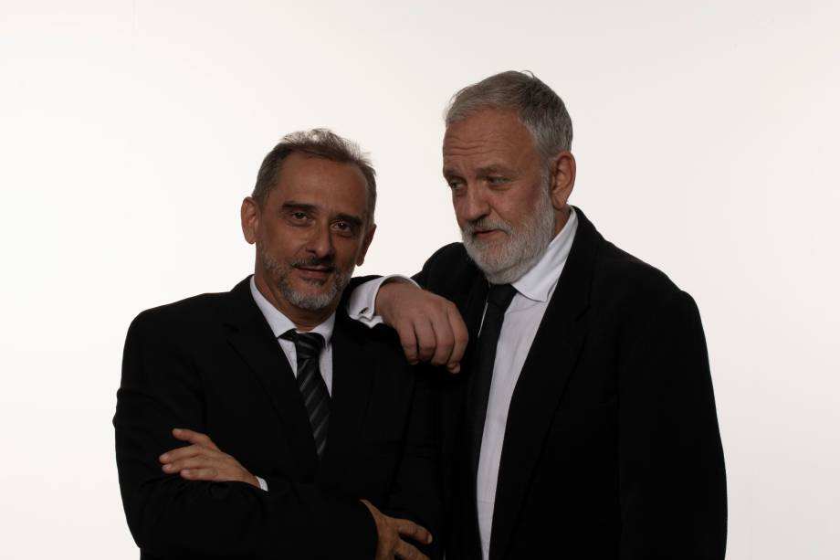 Luciano Chirolli e Dagoberto Feliz: no Sesc Bom Retiro