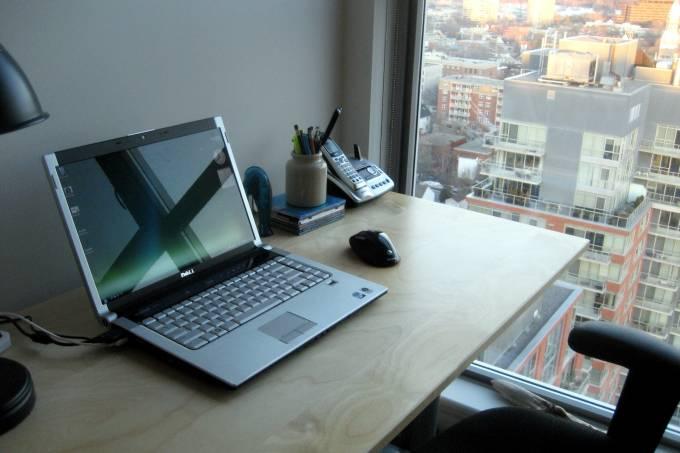 Home office (Edward Bilodeau – Reprodução, Creative Commons)