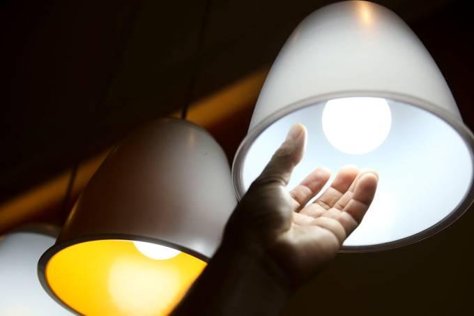 luz lâmpada energia