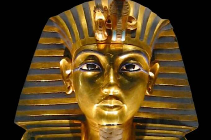 máscara funerária tutancamon