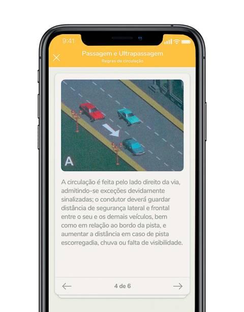 Tela do aplicativo Qranio: conteúdo de forma divertida
