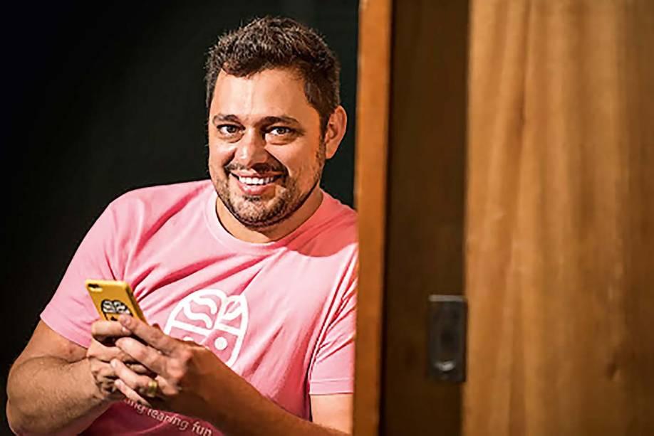 Samir Iásbeck, criador da Qranio: negociação durante a crise