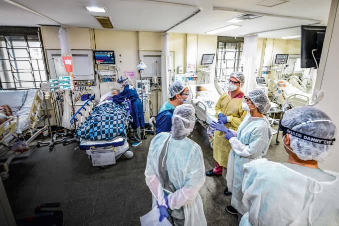 hospital das clínicas covid