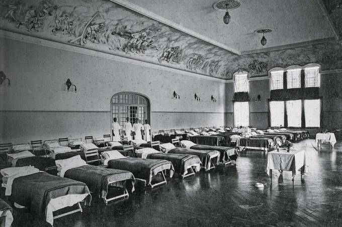 Hospital do Club Athletico Paulistano montado em 1918 (Acervo Club Athletico Paulistano-Divulgação).jpg